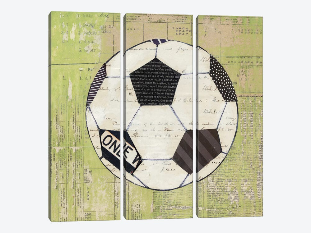 Play Ball III by Courtney Prahl 3-piece Art Print