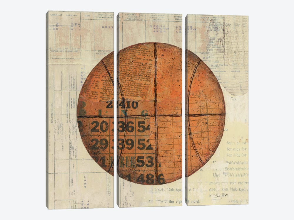 Play Ball IV by Courtney Prahl 3-piece Canvas Art