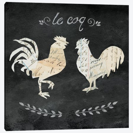 Le Coq Cameo Canvas Print #WAC3255} by Courtney Prahl Canvas Artwork