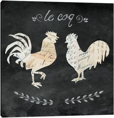 Le Coq Cameo Canvas Art Print