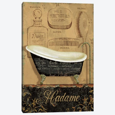Bain de Madame Canvas Print #WAC326} by Daphne Brissonnet Canvas Artwork