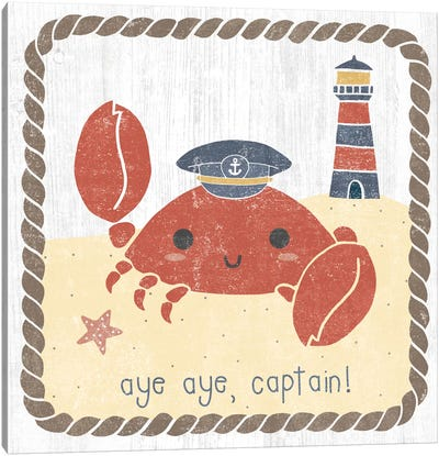 Nautical Friends II Canvas Art Print