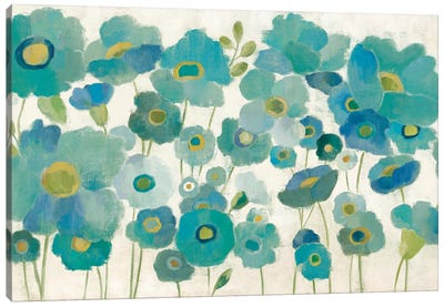 Floral Lace II Canvas Art Print