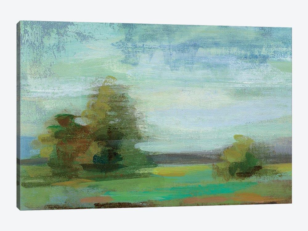 Isthmus Sketches Crop I by Silvia Vassileva 1-piece Canvas Artwork
