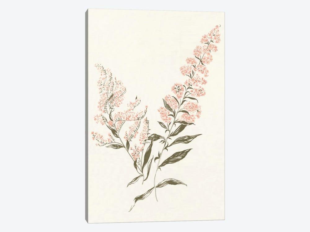 Flowers on White I by Wild Apple Portfolio 1-piece Canvas Wall Art
