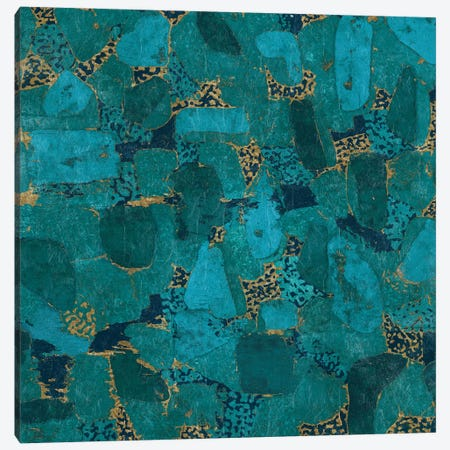 Gilded Stone Canvas Print #WAC3300} by Wild Apple Portfolio Canvas Art Print