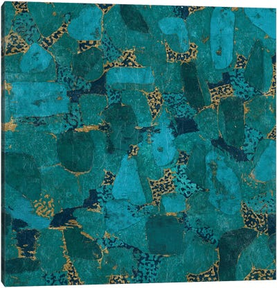 Gilded Stone Canvas Print #WAC3300