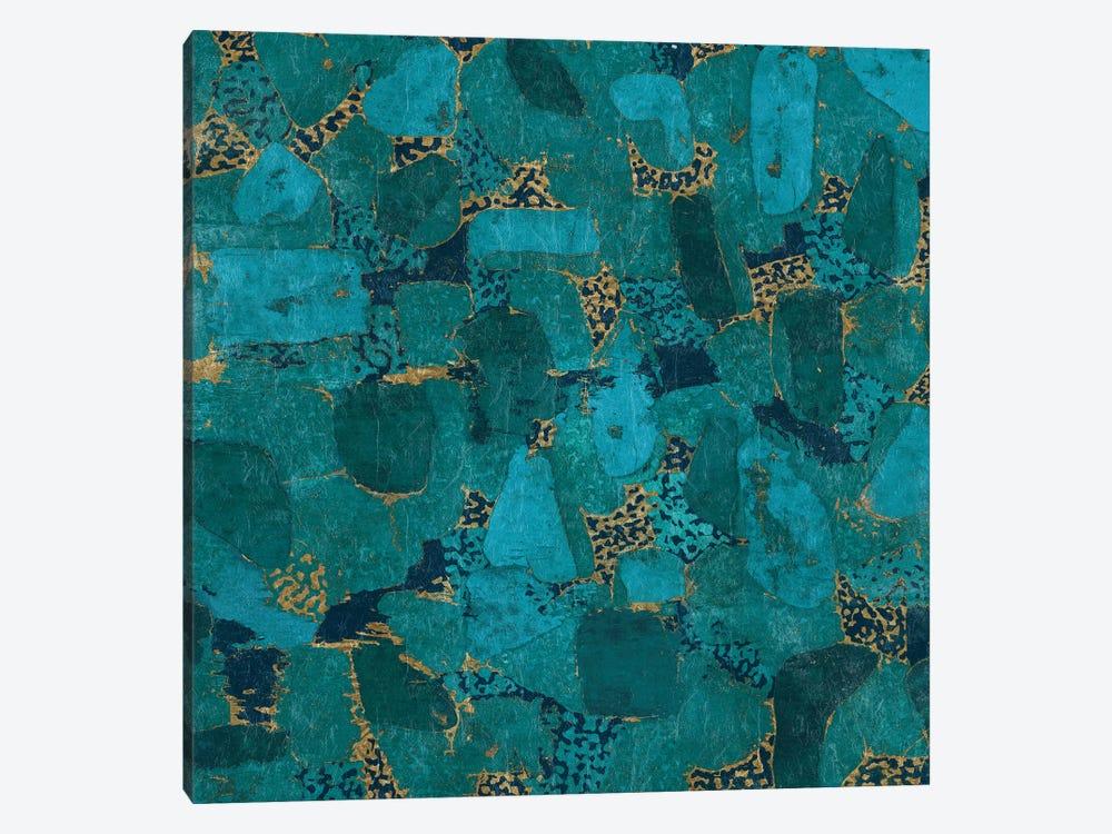 Gilded Stone by Wild Apple Portfolio 1-piece Canvas Wall Art