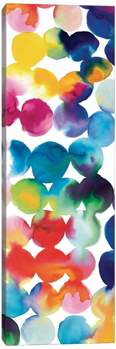 Bright Circles III Canvas Print #WAC3304