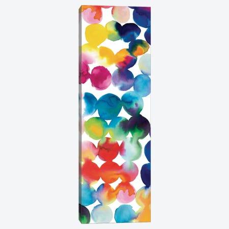 Bright Circles III Canvas Print #WAC3304} by Wild Apple Portfolio Canvas Wall Art