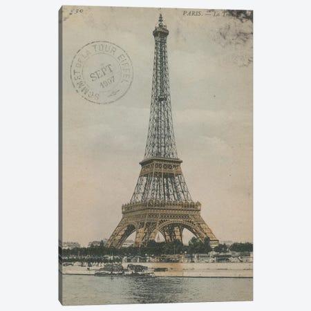 La Tour Eiffel III Canvas Print #WAC3308} by Wild Apple Portfolio Canvas Print