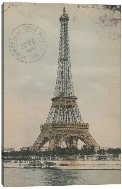La Tour Eiffel III Canvas Print #WAC3308
