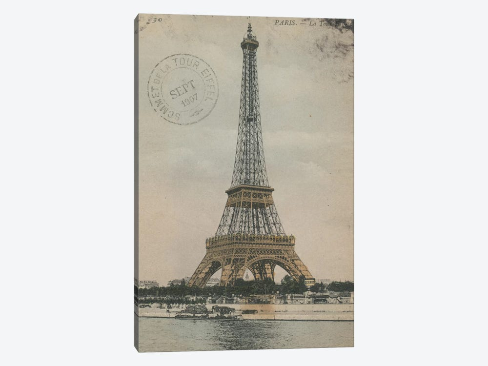La Tour Eiffel III 1-piece Canvas Wall Art