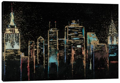 Cityscape Canvas Art Print