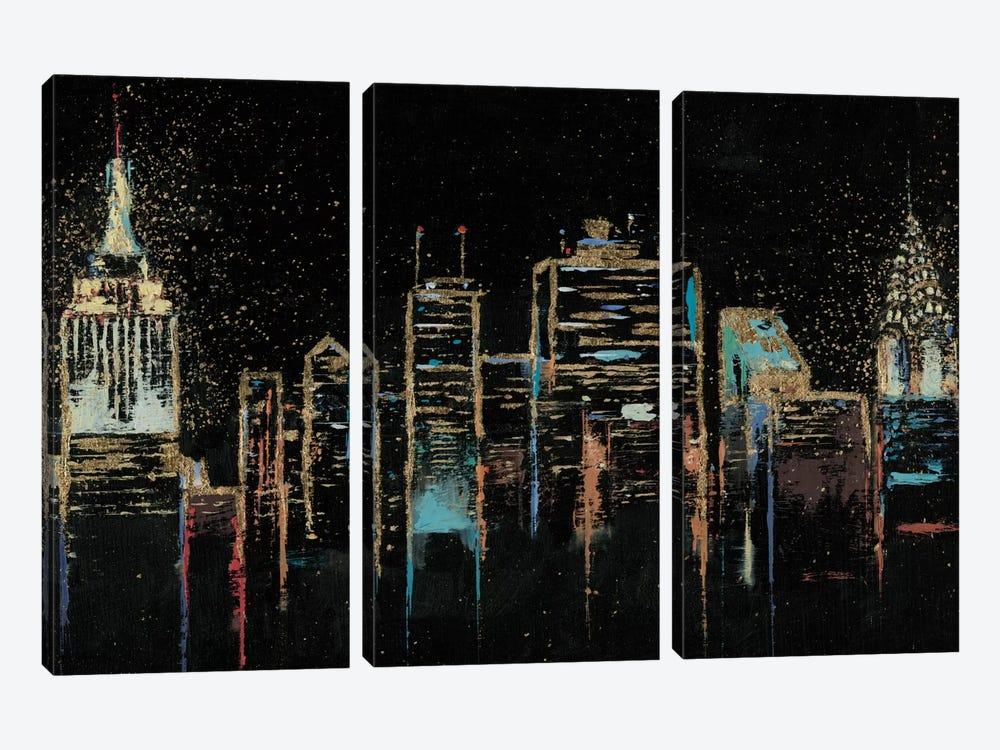Cityscape by James Wiens 3-piece Canvas Print