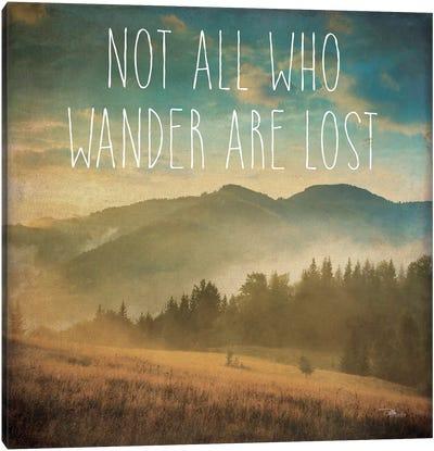 Wander II Canvas Print #WAC3325