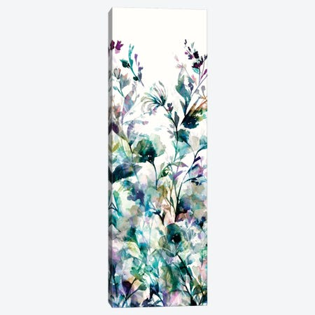 Transparent Garden II - Panel I Canvas Print #WAC3326} by Wild Apple Portfolio Canvas Artwork
