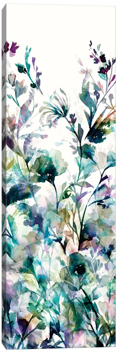 Transparent Garden II - Panel I Canvas Print #WAC3326