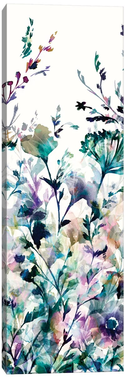 Transparent Garden II - Panel II Canvas Print #WAC3327