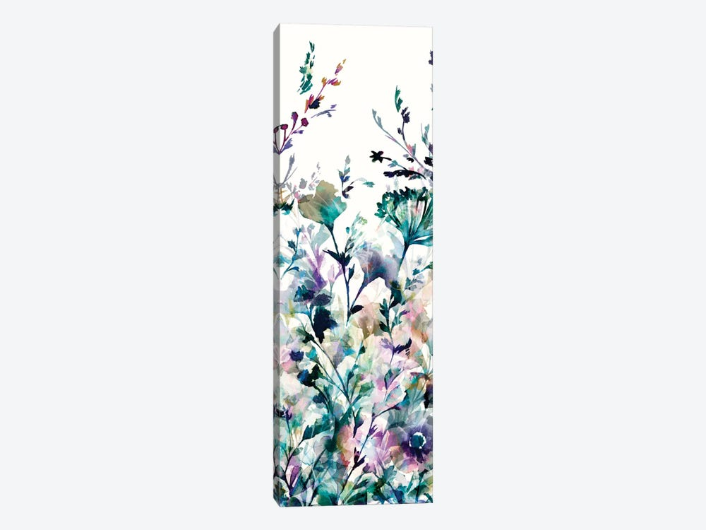 Transparent Garden II - Panel II by Wild Apple Portfolio 1-piece Canvas Art Print