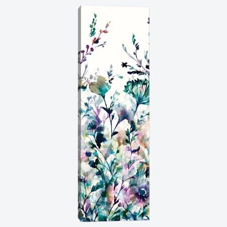 Transparent Garden II - Panel II Canvas Print #WAC3327} by Wild Apple Portfolio Canvas Wall Art