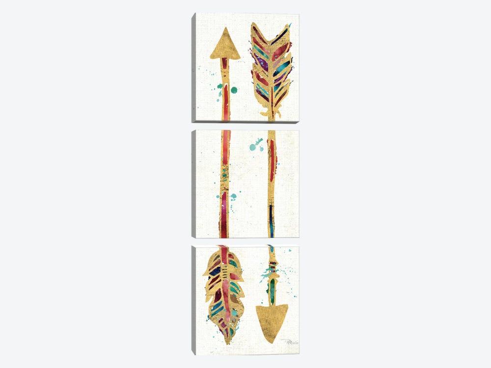 Beautiful Arrows I by Pela Studio 3-piece Canvas Print