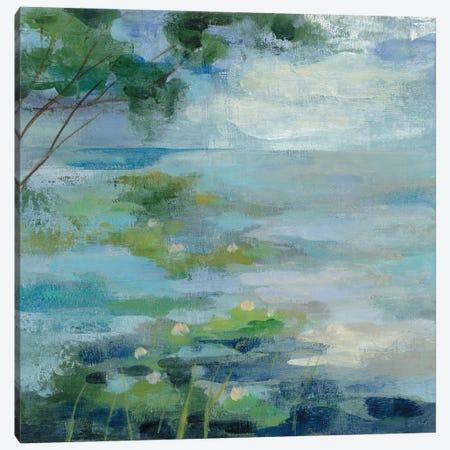Lily Pond I Canvas Print #WAC3339} by Silvia Vassileva Canvas Art