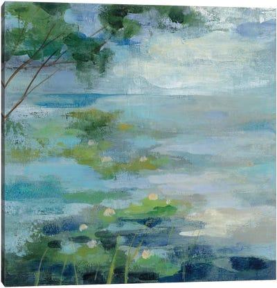 Lily Pond I Canvas Print #WAC3339
