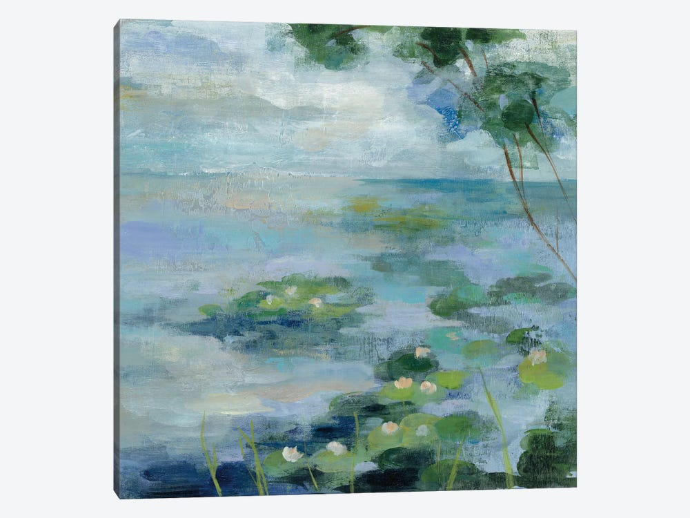Lily Pond II 1-piece Canvas Art