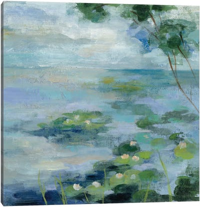 Lily Pond II Canvas Art Print