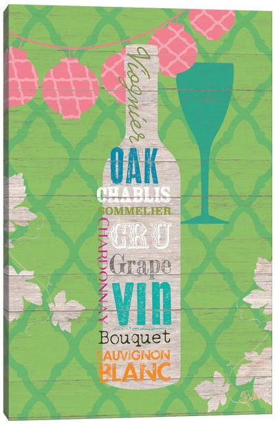 Summer Wine Celebration II Canvas Art Print