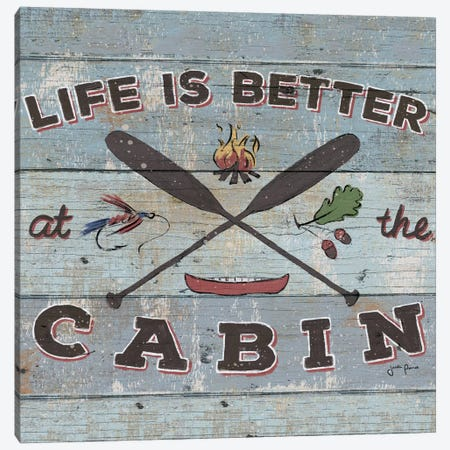 Cabin Fever I 3-Piece Canvas #WAC3346} by Janelle Penner Canvas Art