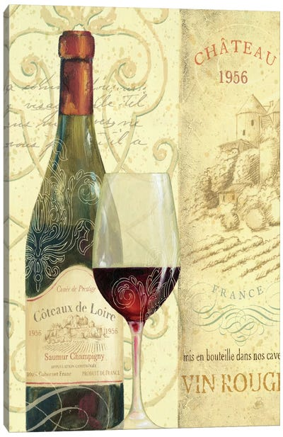 Wine Passion II  Canvas Print #WAC336