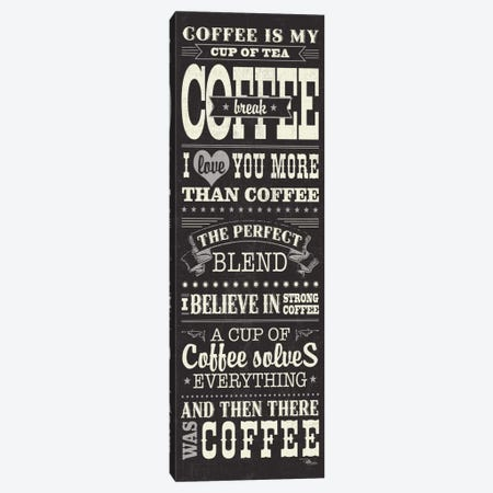 Coffee Lovers I Canvas Print #WAC3424} by Pela Studio Canvas Print