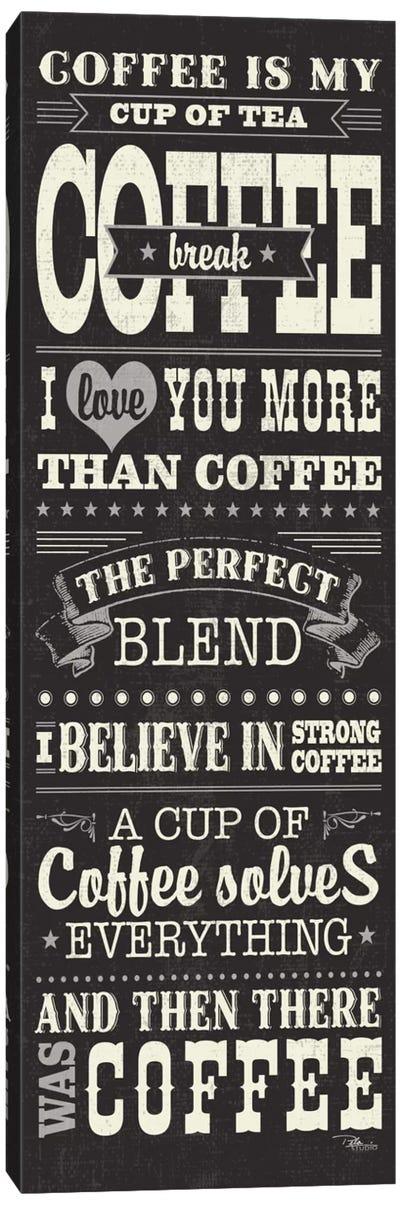 Coffee Lovers I Canvas Art Print