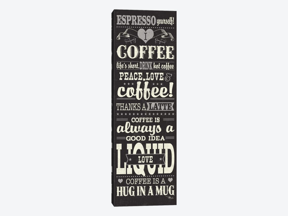 Coffee Lovers II 1-piece Canvas Artwork