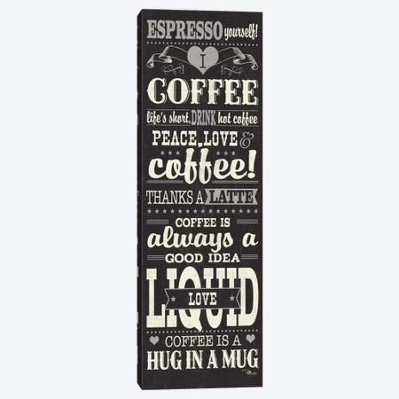 Coffee Lovers II Canvas Print #WAC3425} by Pela Studio Canvas Art Print