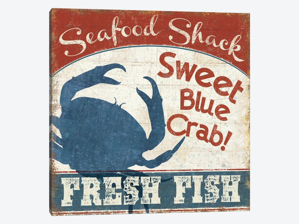 Fresh Seafood II by Pela Studio 1-piece Canvas Wall Art