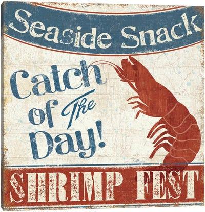 Fresh Seafood III Canvas Art Print