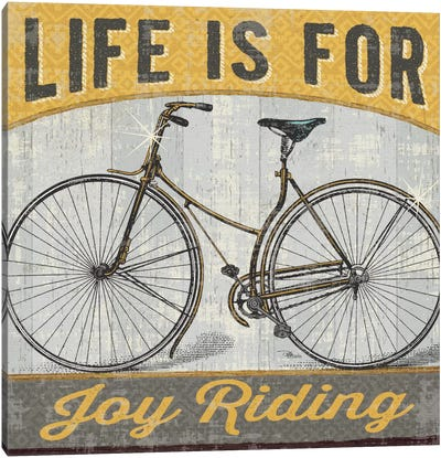 Joy Ride I Canvas Art Print