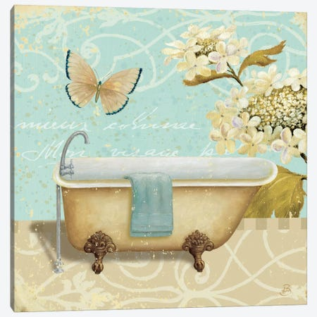 Light Breeze Bath II Canvas Print #WAC358} by Daphne Brissonnet Canvas Wall Art