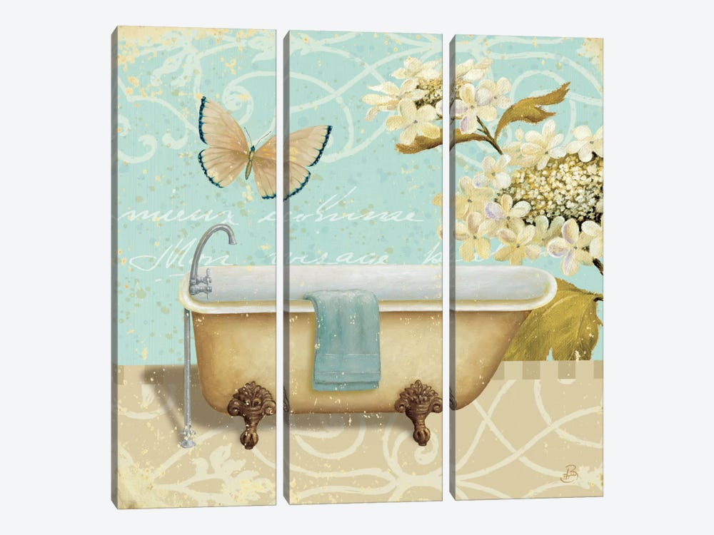 Light Breeze Bath II by Daphne Brissonnet 3-piece Art Print