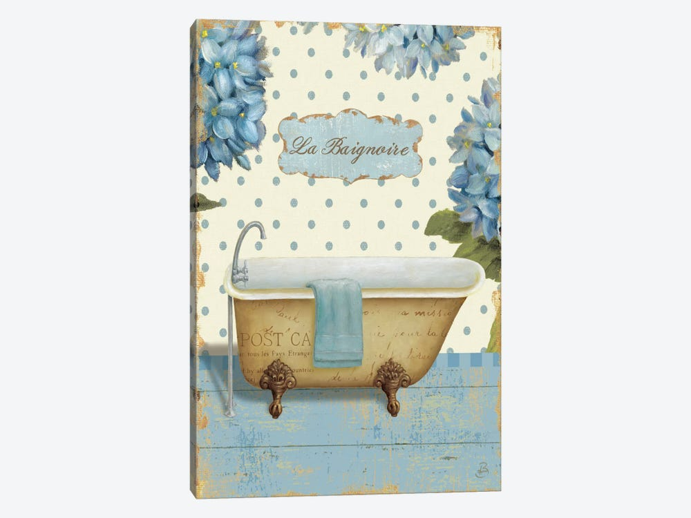 Thinking of You Bath II  by Daphne Brissonnet 1-piece Canvas Artwork