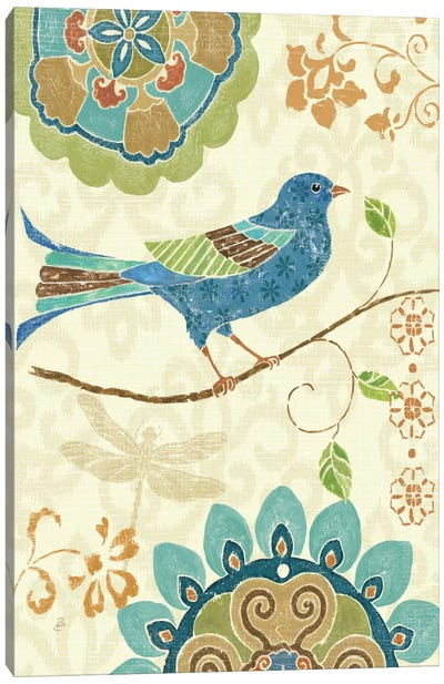 Eastern Tales Birds I  Canvas Print #WAC361