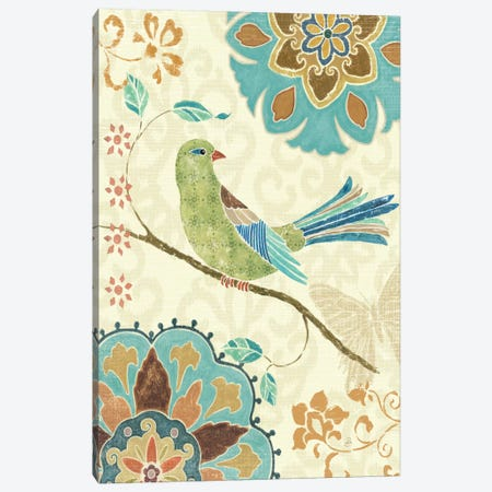Eastern Tales Birds II  Canvas Print #WAC362} by Daphne Brissonnet Canvas Print
