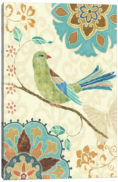 Eastern Tales Birds II  Canvas Print #WAC362