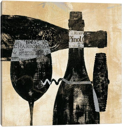 Wine Selection I  by Daphne Brissonnet Canvas Art Print