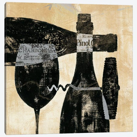 Wine Selection I  Canvas Print #WAC367} by Daphne Brissonnet Canvas Wall Art