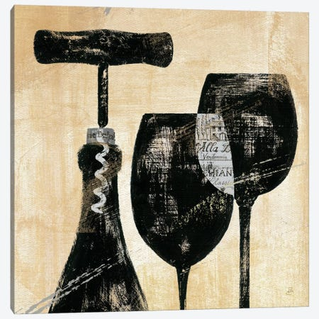 Wine Selection II  Canvas Print #WAC368} by Daphne Brissonnet Canvas Print