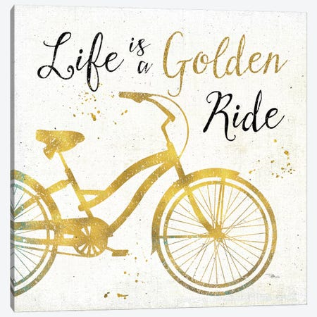Golden Ride I Canvas Print #WAC3707} by Pela Studio Canvas Artwork